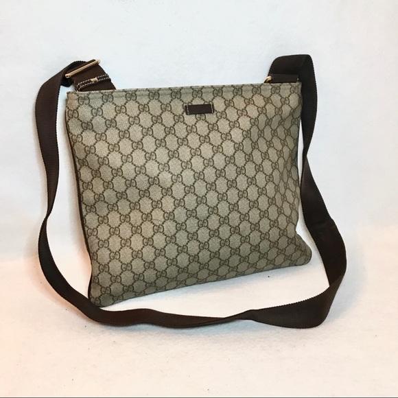5e0210be0566 Gucci Bags | Authentic Supreme Crossbody Messenger Bag | Poshmark